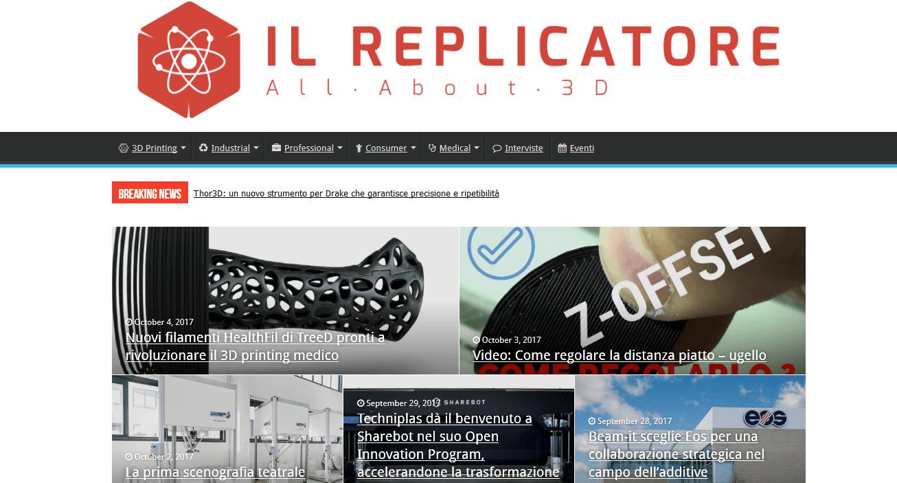 il replicatore, il blog da seguire per eccellenza